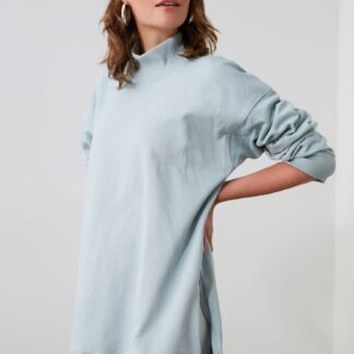 Trendyol světle modrý dámský svetr