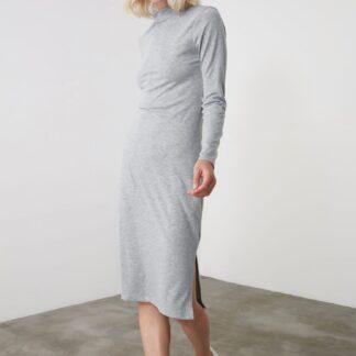 Trendyol šedé šaty