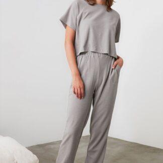Trendyol šedé dámské pyžamo