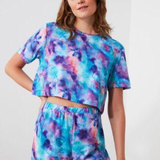 Trendyol modré dámské pyžamo