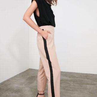 Trendyol béžové kalhoty