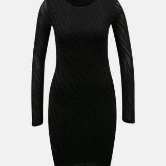 Noisy May černé pouzdrové šaty