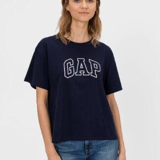 GAP modré dámské tričko s logem
