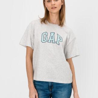GAP šedé dámské tričko s logem