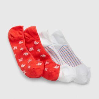 GAP barevný 2 pack dámských ponožek
