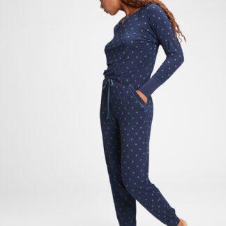 GAP modré dámské pyžamové kalhoty