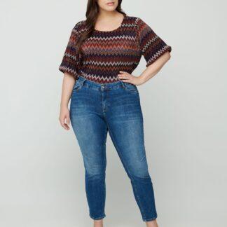 Zizzi modré džíny Skinny Fit