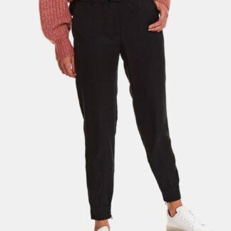Černé kalhoty s páskem TOP SECRET