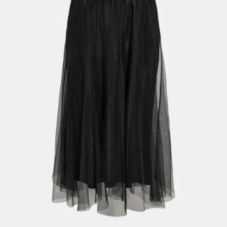 Jacqueline de Yong černá tylová midi sukně