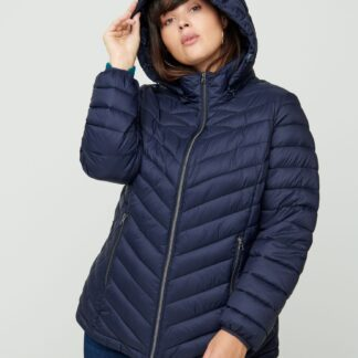 Zizzi tmavě modrá zimní bunda