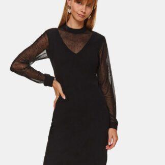 Černé pouzdrové šaty TOP SECRET