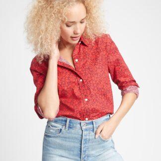 GAP červená dámská košile
