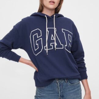 GAP modrá dámská mikina s logem