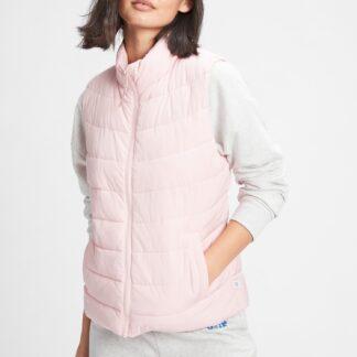 GAP růžová dámská vesta
