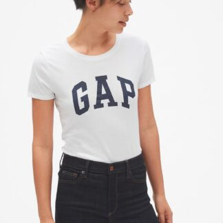 GAP bílé dámské tričko s logem