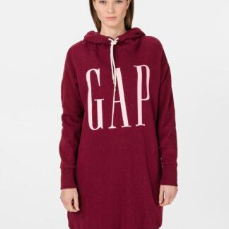 GAP červené volné šaty s logem