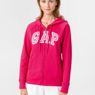 GAP růžová dámská mikina s logem