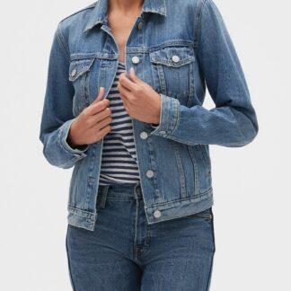 GAP modrá džínová bunda