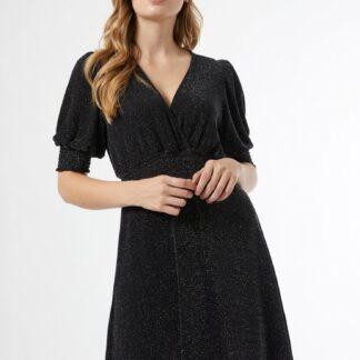Černé třpytivé šaty Dorothy Perkins
