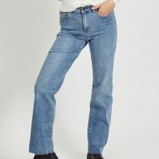 Modré straight fit džíny .OBJECT
