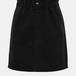 Noisy May černá džínová sukně Judo