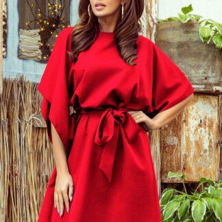 Numoco červené šaty
