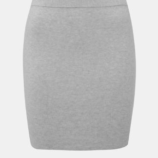 Noisy May šedá svetrová sukně Ship