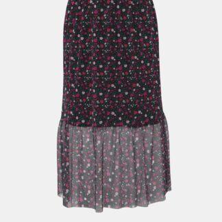 Zizzi černá midi sukně Laila