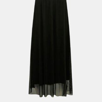 Jacqueline de Yong černá maxi sukně Dixie
