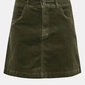 Jacqueline de Yong khaki manšestrová sukně Era