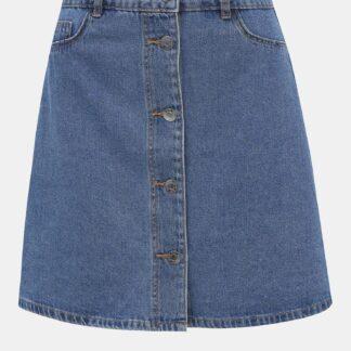 Noisy May modrá džínová sukně Sunny