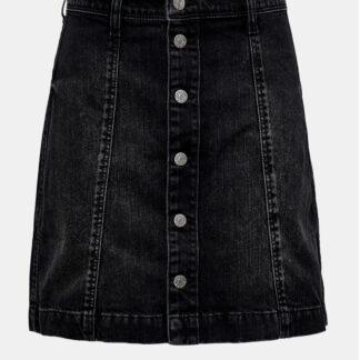 Jacqueline de Yong černá džínová sukně