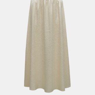 Noisy May krémová vzorovaná dámská sukně Seren
