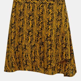 Noisy May oranžové vzorovaná sukně Beagle