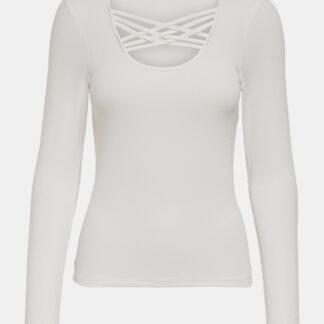 Bílé tričko ONLY Mary