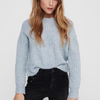 Modrý svetr ONLY New Chunky