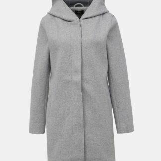 Šedý kabát ONLY Siri