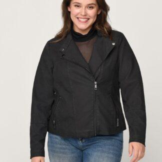 Zizzi černá kožená bunda
