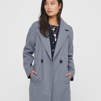 Světle modrý kabát ONLY