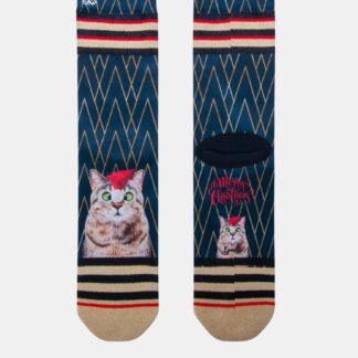 Modré dámské ponožky XPOOOS