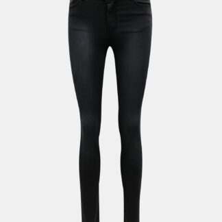 Tmavě šedé skinny fit džíny VERO MODA