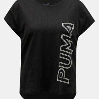 Puma černé dámské tričko s potiskem