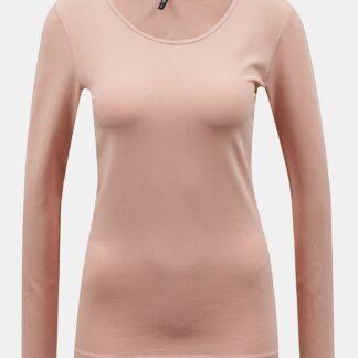 Světle růžové  basic tričko ONLY