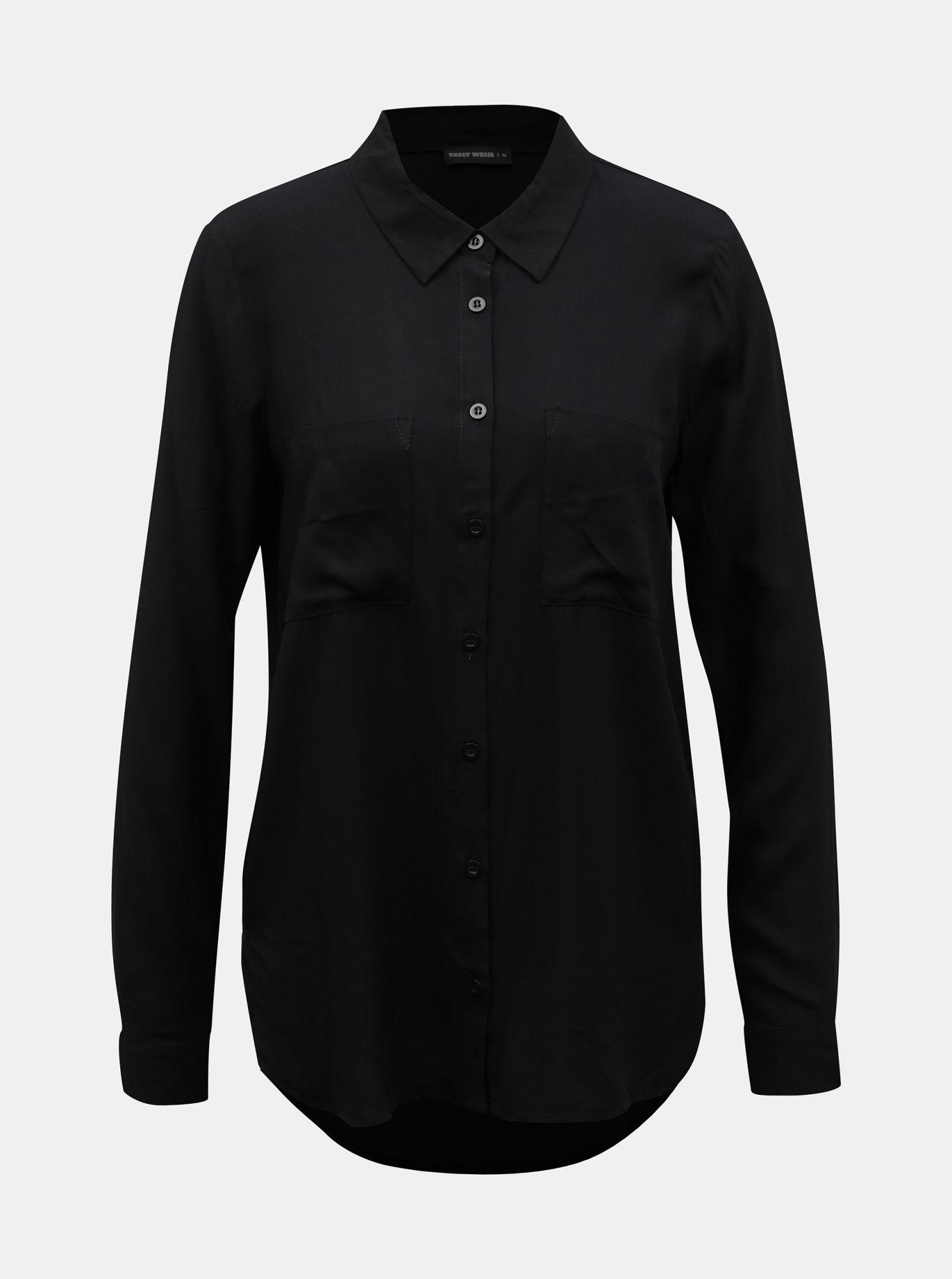 Černá košile TALLY WEiJL