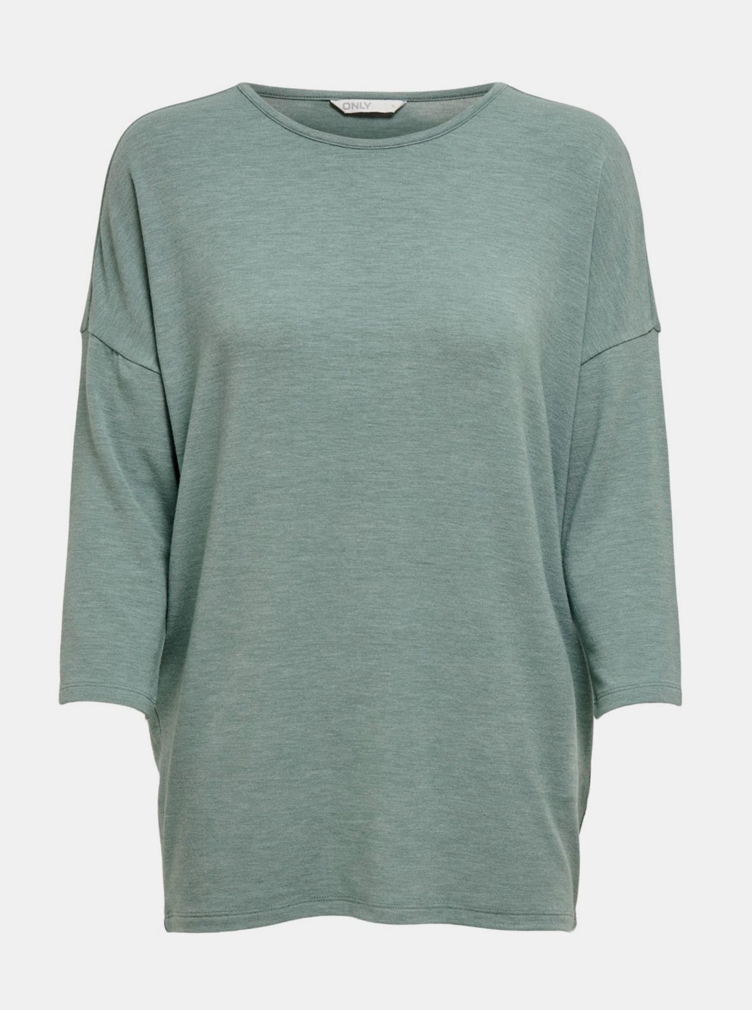 Zelený lehký svetr ONLY Glamour