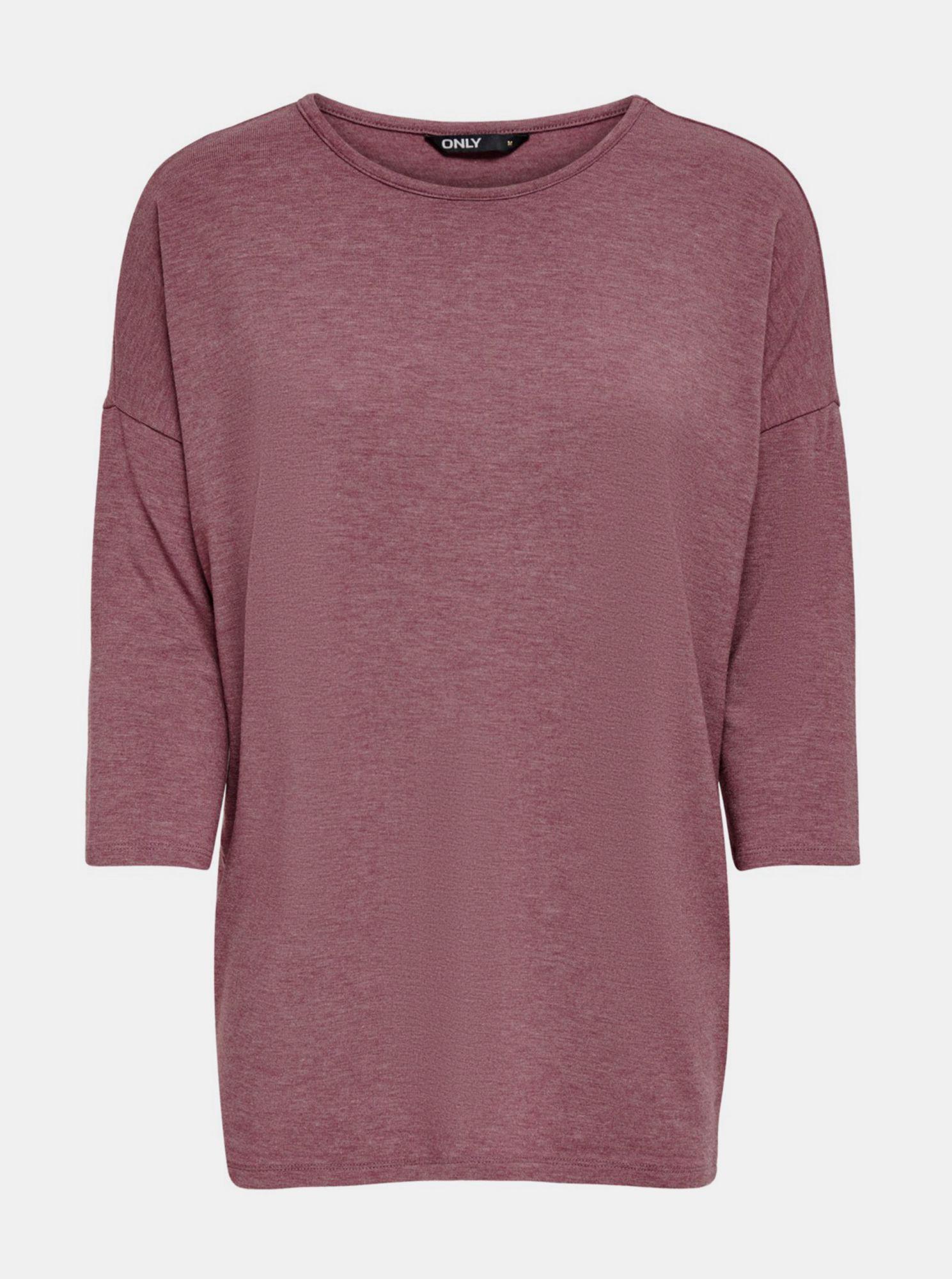 Fialový lehký svetr ONLY Glamour