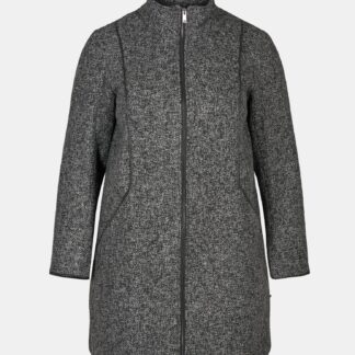 Zizzi šedý kabát