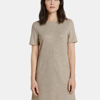 Béžové dámské šaty Tom Tailor