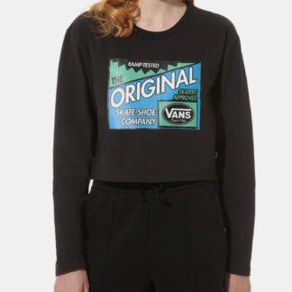 Černé dámské tričko VANS