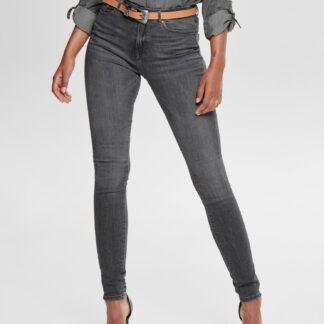 Šedé skinny fit džíny ONLY Paola